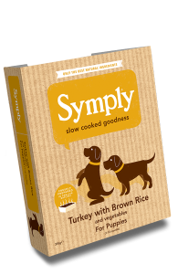 frisk foder turkey-puppy